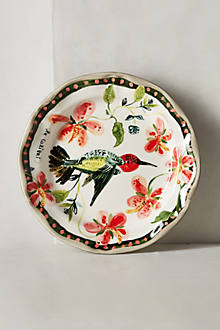 Hummingbird Dinner Plate