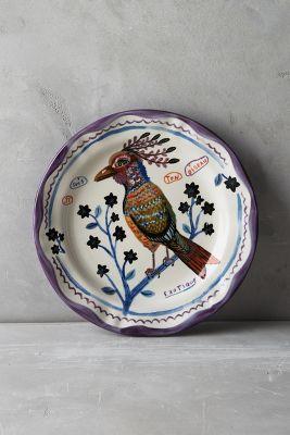 Francophile Dinner Plate