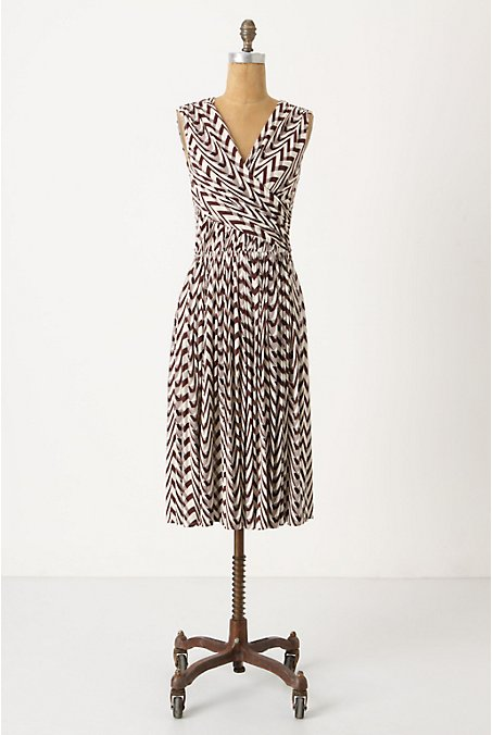 Dynamic Zigs Dress - Anthropologie.com :  vback vneck dress draped
