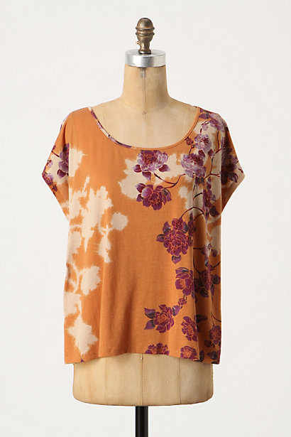 Eventide Erodium Top - Anthropologie.com :  tee boxy knit detail flowers