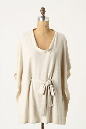 Summer Chill Pullover - Anthropologie.com :  poncho tie pullover summery