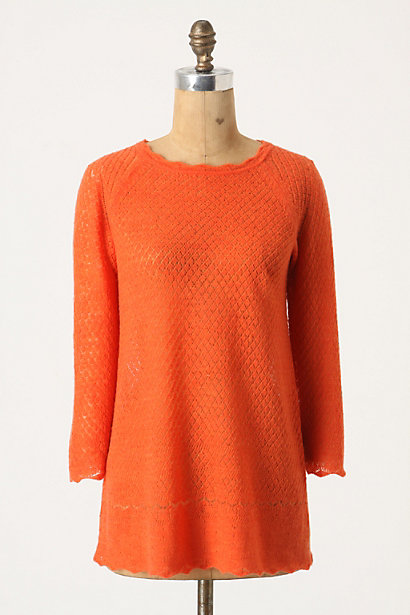 Thousand Carat Pullover - Anthropologie.com :  wool tunic pullover summery