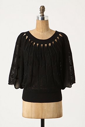 Fanning Scallops Pullover - Anthropologie.com