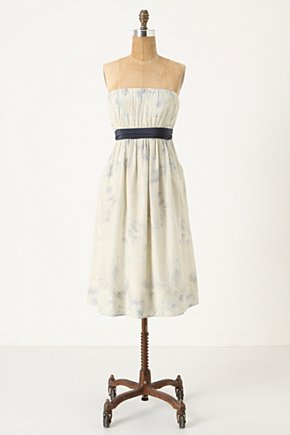 Fanning Triangles Dress - Anthropologie.com :  party frock side pockets angular empire waist