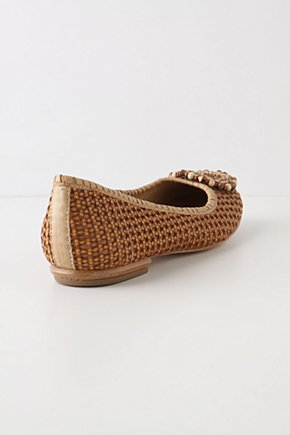 Rattanesque Skimmers - Anthropologie.com