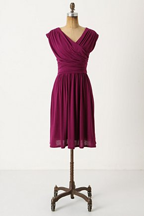 Whirligig Dress - Anthropologie.com :  frock jersey ruched swirly