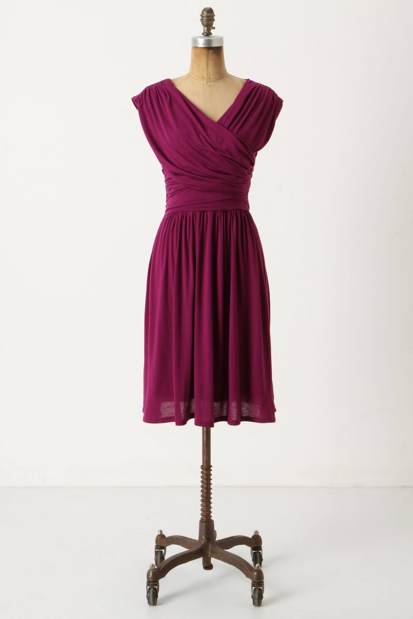 Whirligig Dress - Anthropologie.com :  jersey anthropologie dress draped