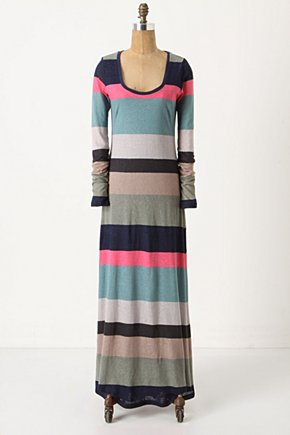 Different Degrees Maxi - Anthropologie.com :  scoop neckline stripes maxi summery