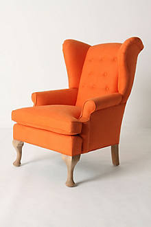 Howell Wingback, Linen