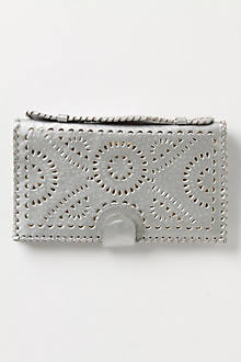Leather-Bound Clutch