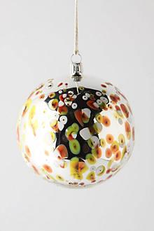 Mottled Mirrored Ornament