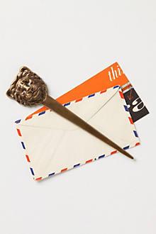 Lion's Head Letter Opener