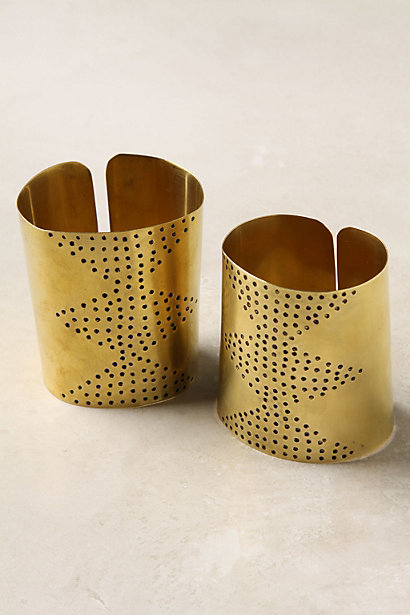 Pierced Cuffs  - Anthropologie.com :  metal accessories cuffs jewelry