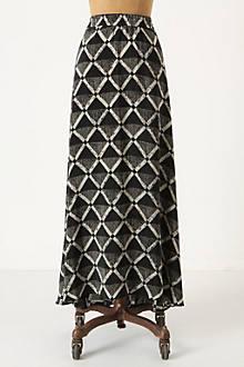 Gradated Diamonds Skirt