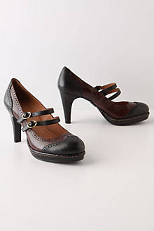 Wingtip Mary-Janes