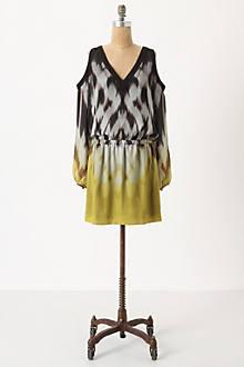 Ombre Ikat Mini-Dress