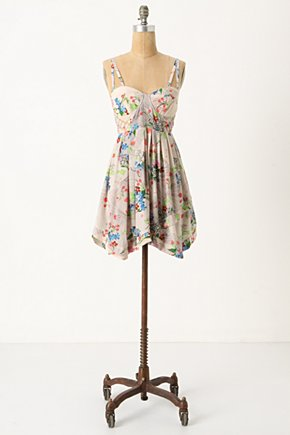 Lingonberry Corset Dress - Anthropologie.com :  nature inspired padded berry underwire