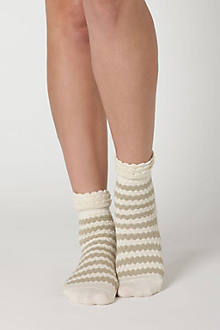 Marzipan Socks, Stripes