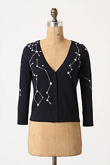 Kites and Constellations Cardigan