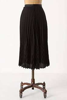 Diverted Pleats Midi