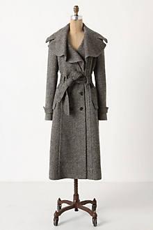 Enduring Tweed Overcoat