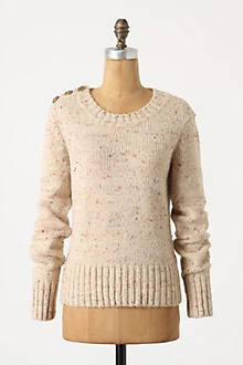 Buttoned-Berm Pullover