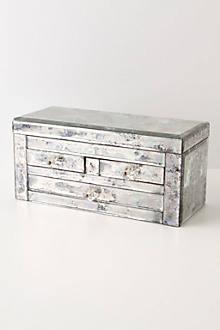 Rose Mallow Reflection Jewelry Box, Rectangle