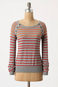 Gradated Stripes Pullover