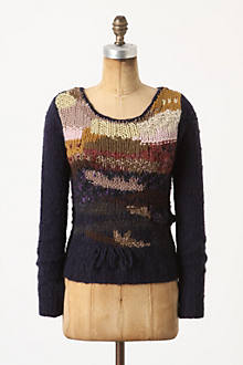 Abstract Landscape Pullover