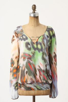 Tossed Gardenias Blouse