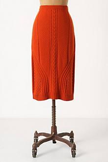 Needled Paths Sweater Skirt
