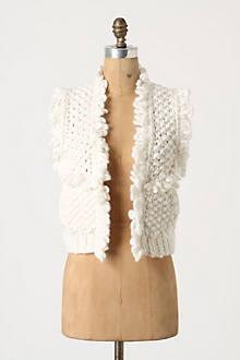 Looped Fleece Vest