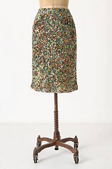 Twinkle Lights Pencil Skirt