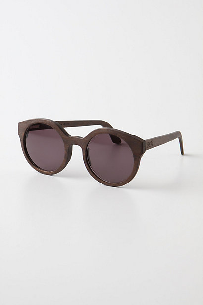 Hardwood Round Shades By Capital - Anthropologie.com :  wood sunglasses sunnies anthropologie