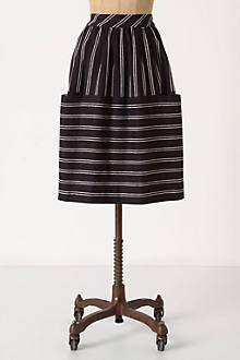 Nubby Stripes Skirt