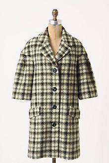 Neo-Houndstooth Coat