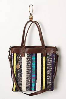 Stitched Stripes Tote