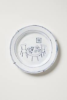 Snowdown Canape Plate