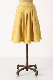 Buttered Tweed Skirt