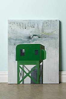Train Tower By Heather Braun-Dahl