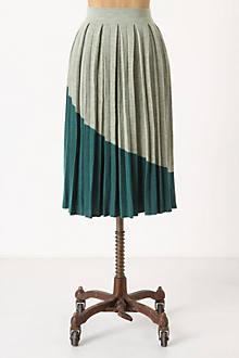 Divvied Colorblock Skirt