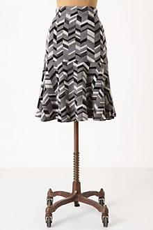 Inlaid Sweater Skirt