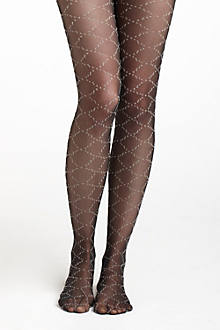 Winding Diamond Tights