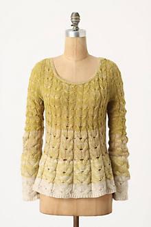Fading Stitch Pullover