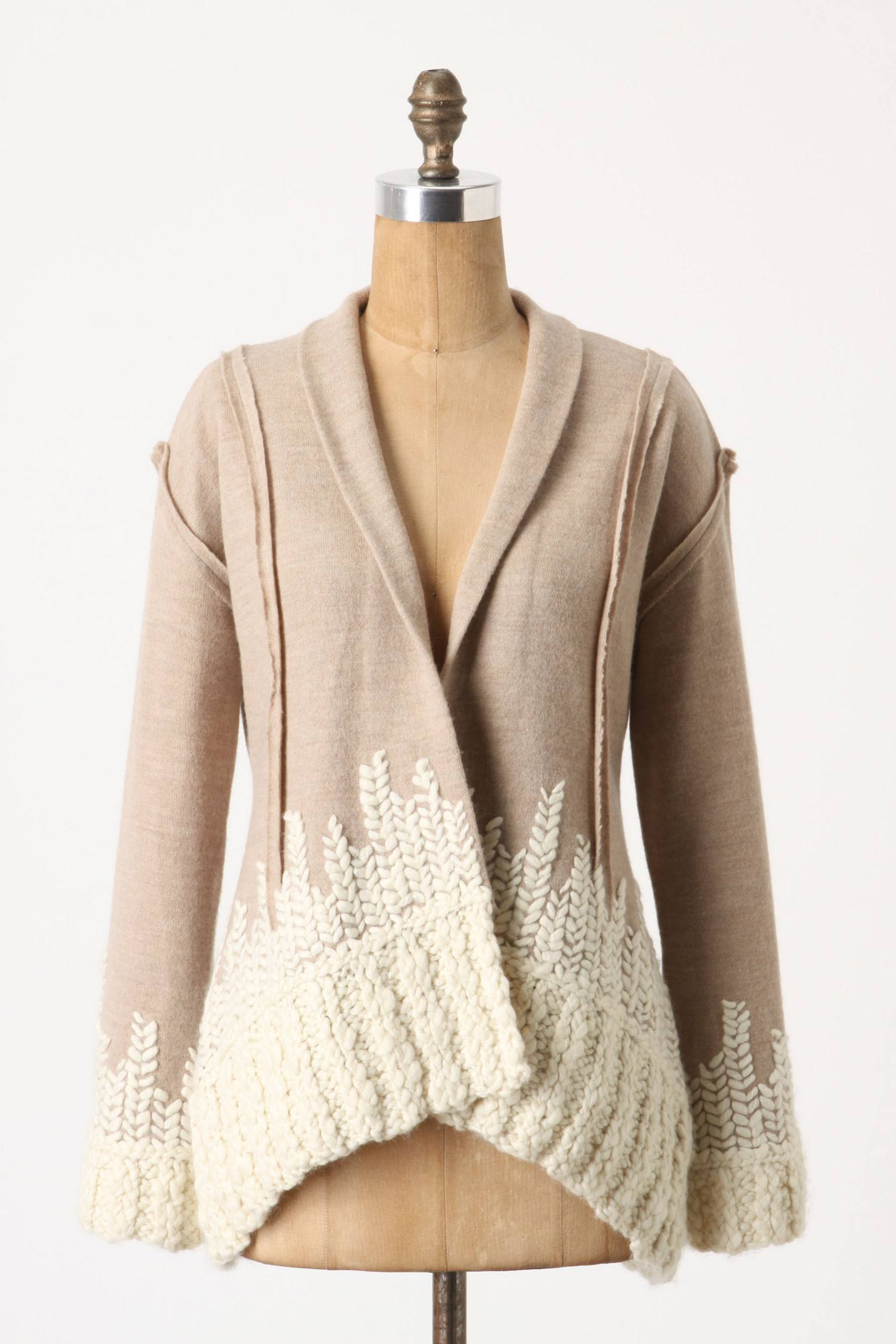 Жакет из свитера