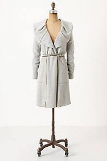 Ruffled Sweatercoat