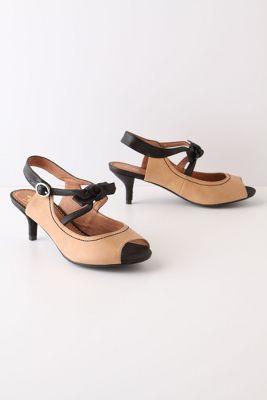 Black-Tie Kitten Heels
