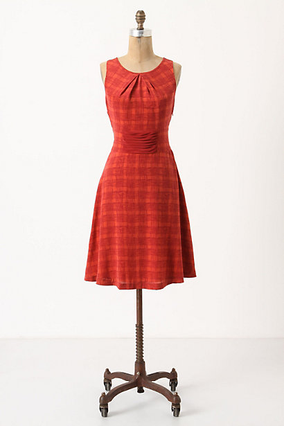 Goji Plaid Dress