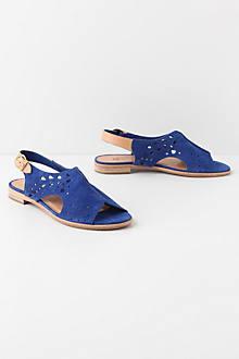 Azure Aperture Sandals