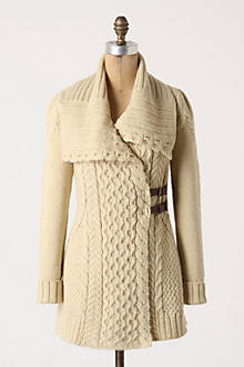 Blanched & Buckled Cardigan